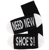 Sokken 'Need new shoes' maat 36-41_