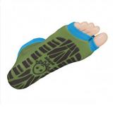 Antislip zwemsokken Sweakers khaki/groen maat 35-38_
