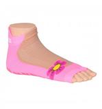 Antislip zwemsokken Sweakers roze flower maat 27-30_