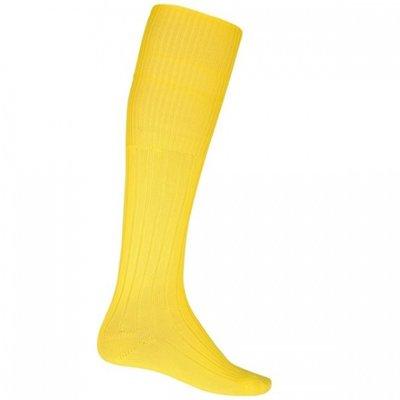 Voetbalsokken geel maat 40-46