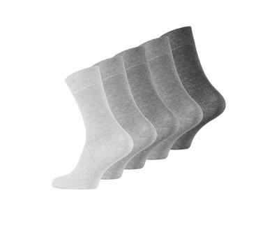 Sokken 5-pack grijs maat 43/46