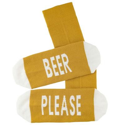 Sokken 'Beer Please' maat 40-45