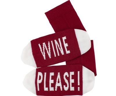 Sokken 'Wine Please' maat 36-41