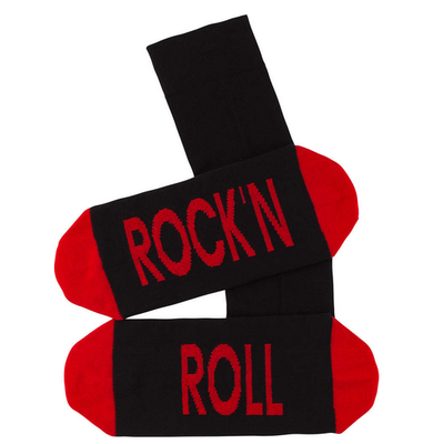 Sokken 'Rock 'n roll' maat 40-45