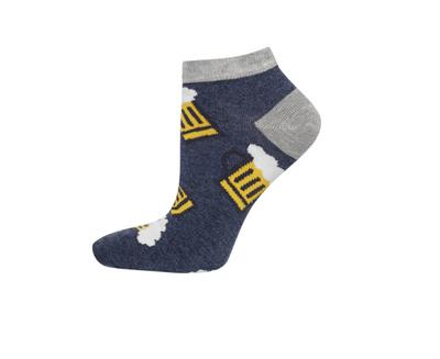 Sneaker sokken biertjes maat 40-45