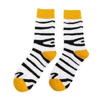 Sokken zebra print maat 39-42