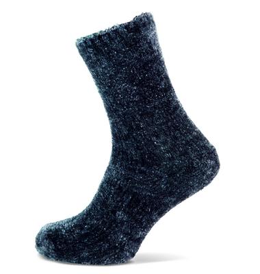 Huissokken blauw maat 36-42