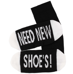 Sokken 'Need new shoes' maat 36-41