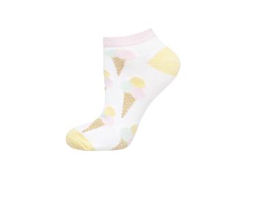Sneaker sokken ijsjes maat 35-40