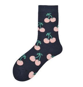Sokken kersen roze maat 39-42