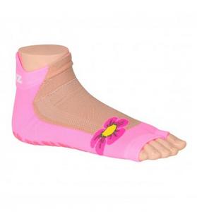 Antislip zwemsokken Sweakers roze flower maat 27-30