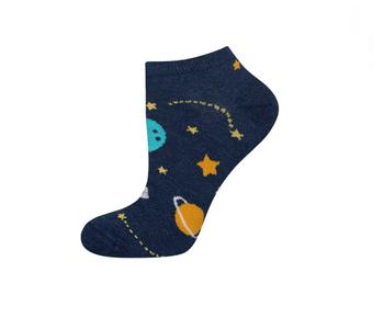 Sneaker sokken heelal maat 40-45